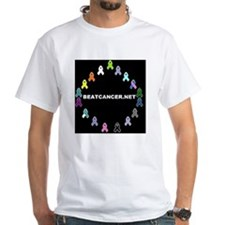 Black BEATCANCER.NET Logo Shirt