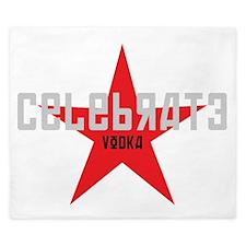 celebrate vodka King Duvet