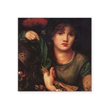 """Greensleeves Square Sticker 3"""" x 3"""""""
