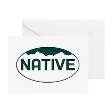 CO - Colorado - Native Greeting Card
