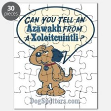 Can you tell an Azawakh from a Xoloitzquint Puzzle