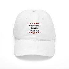 Loves: Gerbils Baseball Cap