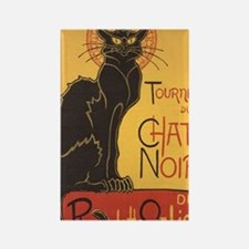 Le Chat Noir Rectangle Magnet