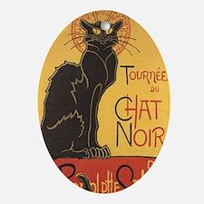 Le Chat Noir Oval Ornament