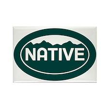 CO - Colorado - Native Rectangle Magnet