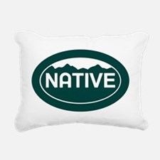 CO - Colorado - Native Rectangular Canvas Pillow