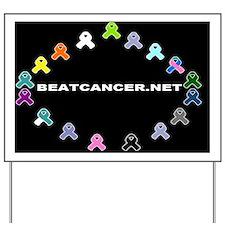BEATCANCER.NET Banner Yard Sign