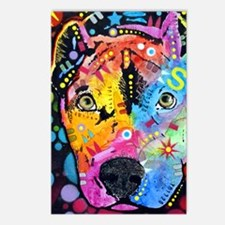 Smokey The Pitbull Postcards (Package of 8)