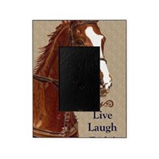 Live! Laugh! Ride! Horse Picture Frame