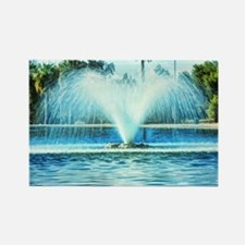 park fountain Rectangle Magnet