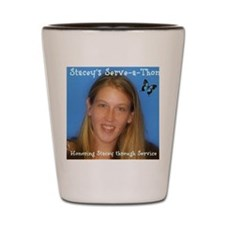 Honoring Stacey through Service Shot Glass