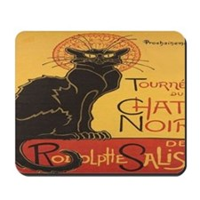 Le Chat Noir Mousepad