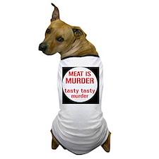 meatmurderbutton Dog T-Shirt