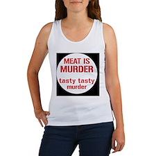 meatmurderbutton Women's Tank Top