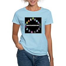 BEATCANCER.NET Gel Mouse Pad T-Shirt
