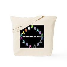 BEATCANCER.NET Gel Mouse Pad Tote Bag