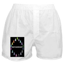BEATCANCER.NET Clipboard Boxer Shorts