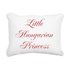Little Hungarian Princes Rectangular Canvas Pillow