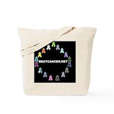 BEATCANCER.NET Yard Sign Tote Bag