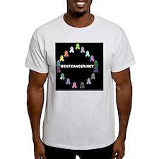 BEATCANCER.NET Yard Sign T-Shirt
