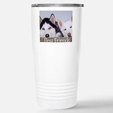 Funny Husky Travel Mug