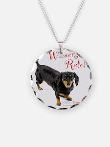 Wieners Rule Necklace