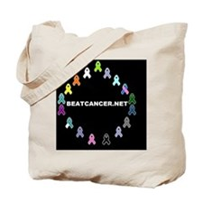 BEATCANCER.NET Small Poster Tote Bag