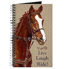 Live! Laugh! Ride! Horse Journal