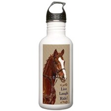 Live! Laugh! Ride! Hor Water Bottle