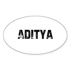 Aditya Oval Decal
