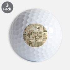 Vintage Rodeo Round-Up Golf Ball