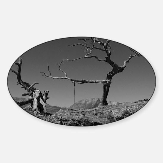 Burmis Tree Sticker (Oval)