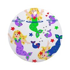 Mermaids Ornament (Round)