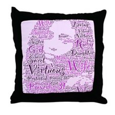 We ARE Virtuous Throw Pillow