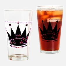 Ruby Princess Drinking Glass