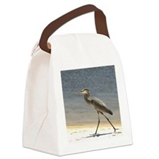 Great Blue Heron Canvas Lunch Bag