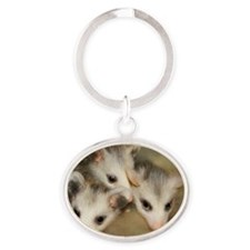 Possum BSnuttles Oval Keychain