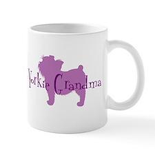 Yorkie Grandma Mug