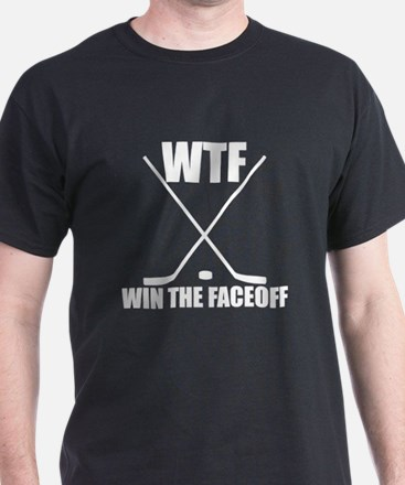 WTF Win The Faceoff T-Shirt
