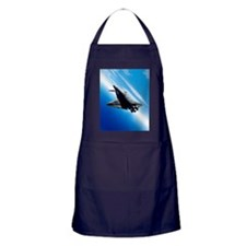 Futuristic space shuttle travelling a Apron (dark)