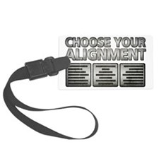 Alignment Luggage Tag