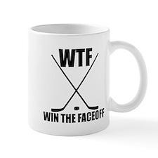 WTF Win The Faceoff Mugs