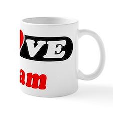 I Love Hiram Mug