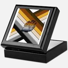 MOSAIC PRIDE PAW/CROSSED BEAR PRIDE FLAGS Tile Box