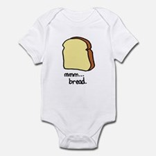 mmm.. bread. Infant Bodysuit
