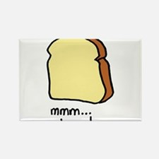 mmm.. bread. Rectangle Magnet