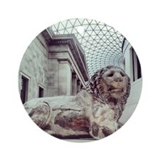 Lion of Knidos Ornament (Round)