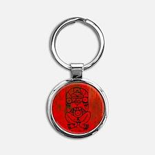 Atabey, Taino Goddess Round Keychain