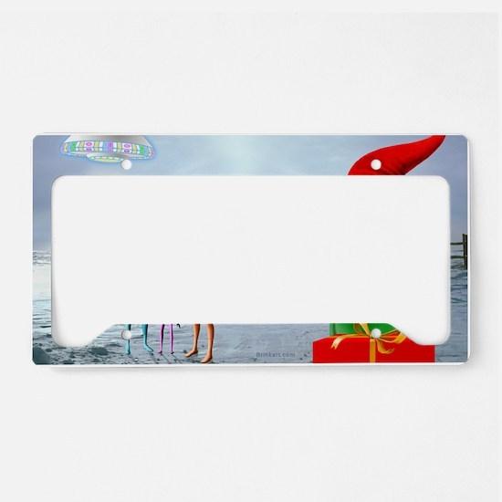 ERGANOMIC MOUSEPAD License Plate Holder