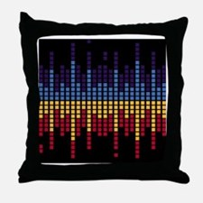 Equalizer Shower Curtain Throw Pillow